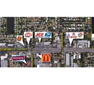 New Listing! - Outparcel for Lease or Redevelopment